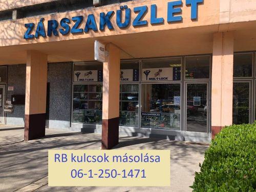 RB kulcsmásolás Budapest - Kódkártyás kulcsok azonnali másolása